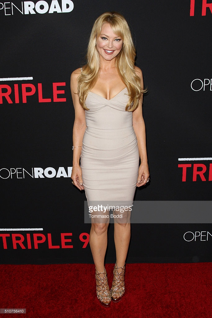 At the Triple 9 Premiere in Los Angeles.